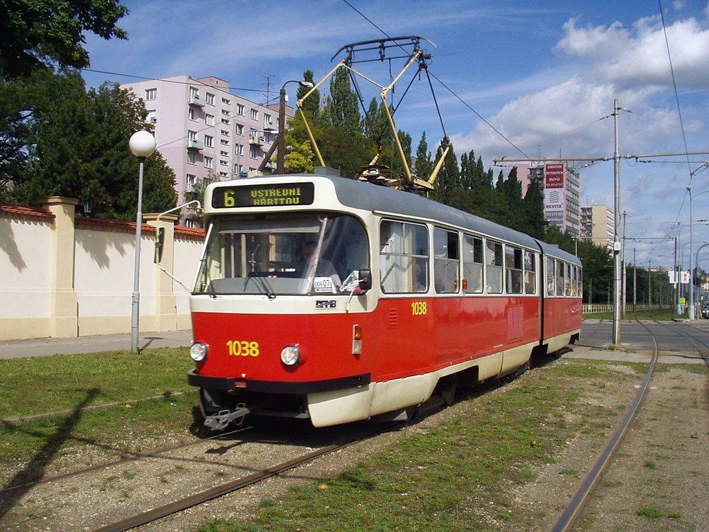Fotogalerie » ČKD Tatra K2T 1038 | Brno | Štýřice | Vídeňská
