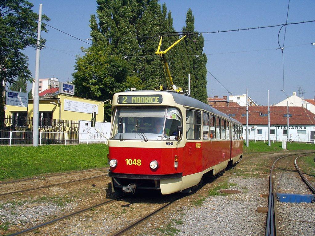 Fotogalerie » ČKD Tatra K2P 1048 | Brno | Štýřice | Vídeňská