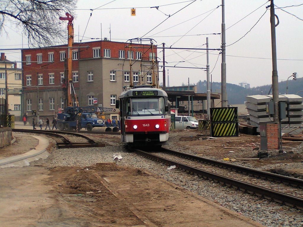 Fotogalerie » ČKD Tatra T3G 1643 | Brno | Pisárky