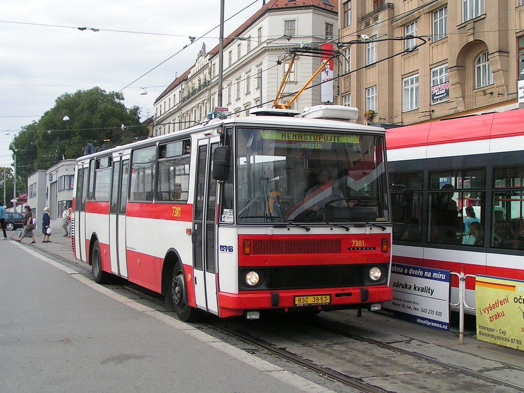 Fotogalerie » Karosa B732.1654.3 7381 | Brno | střed | Nádražní | Hlavní nádraží