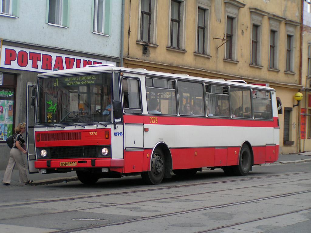Fotogalerie » Karosa B732.40 7273 | Brno | Staré Brno | Václavská | Václavská