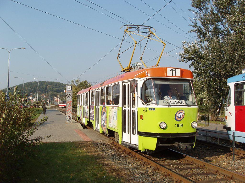 Fotogalerie » ČKD Tatra K2 1109 | Brno | Komín | Kníničská | Kamenolom