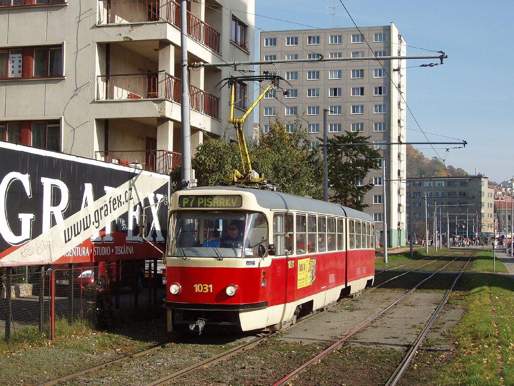 Fotogalerie » ČKD Tatra K2P 1031 | Brno | Staré Brno | Veletržní