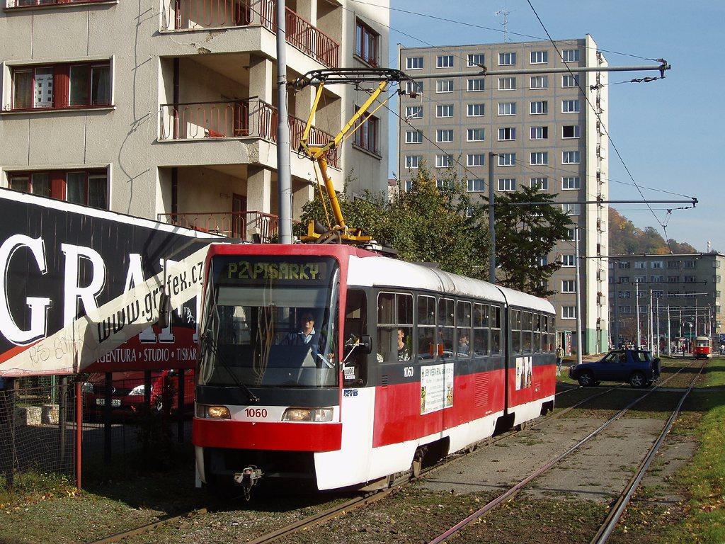 Fotogalerie » ČKD Tatra K2R03 1060   Brno   Staré Brno   Veletržní