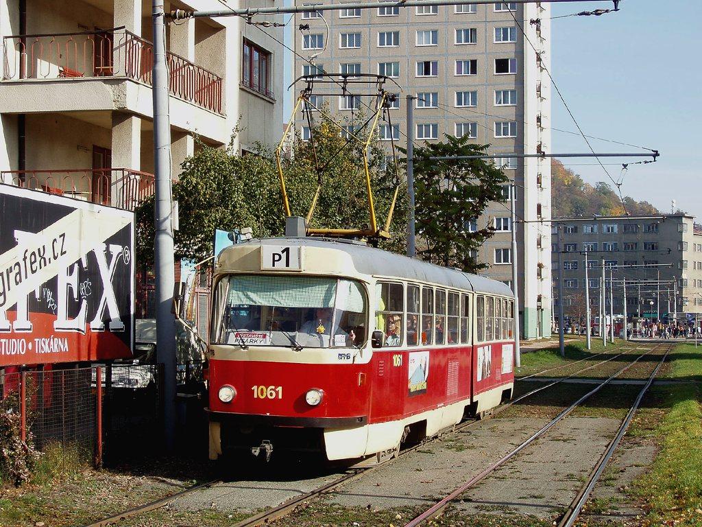 Fotogalerie » ČKD Tatra K2 1061 | Brno | Staré Brno | Veletržní