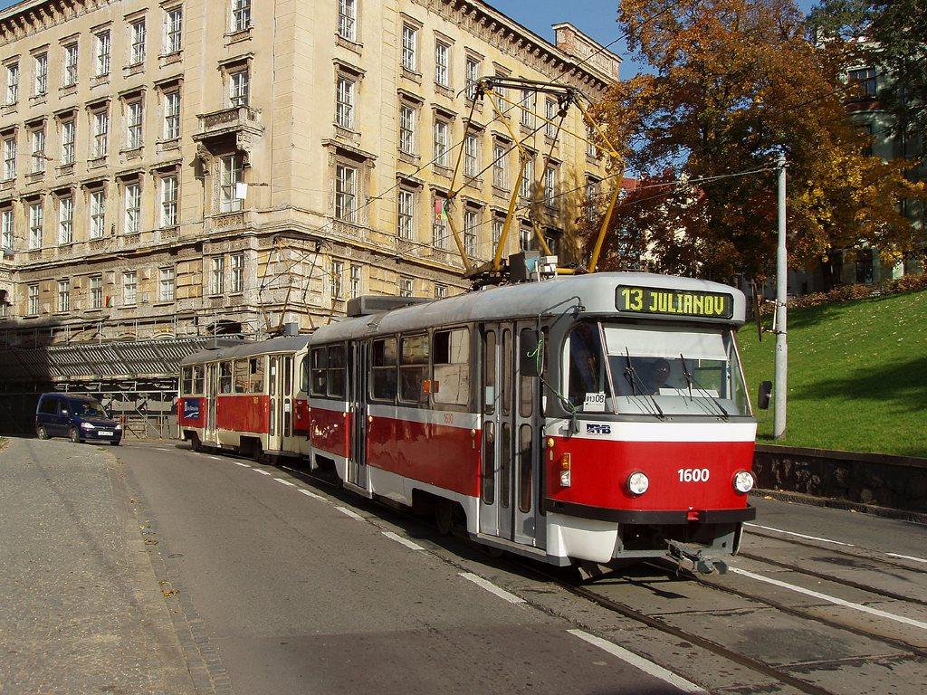 Fotogalerie » ČKD Tatra T3M 1600 | ČKD Tatra T3M 1601 | Brno | střed | Husova