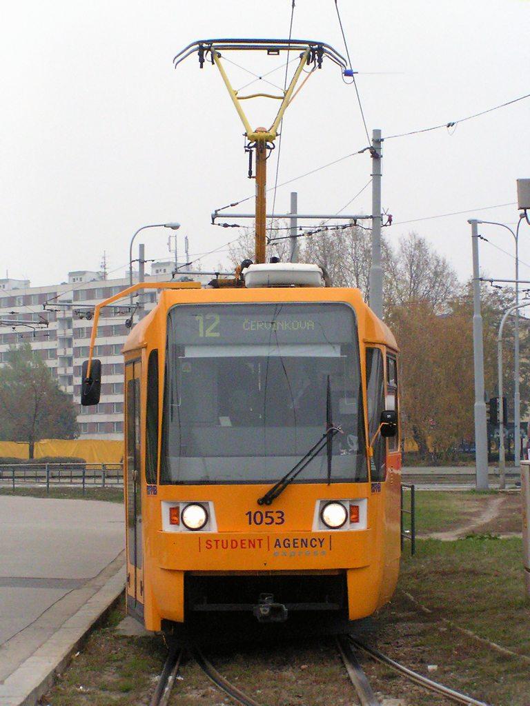 Fotogalerie » ČKD Tatra K2R 1053 | Brno | Komárov | Komárov, smyčka