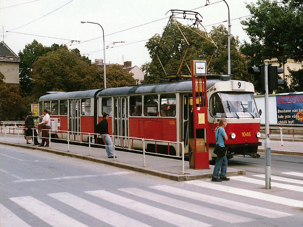 Fotogalerie » ČKD Tatra K2MM 1046 | Brno | Černá Pole | Merhautova | Jugoslávská