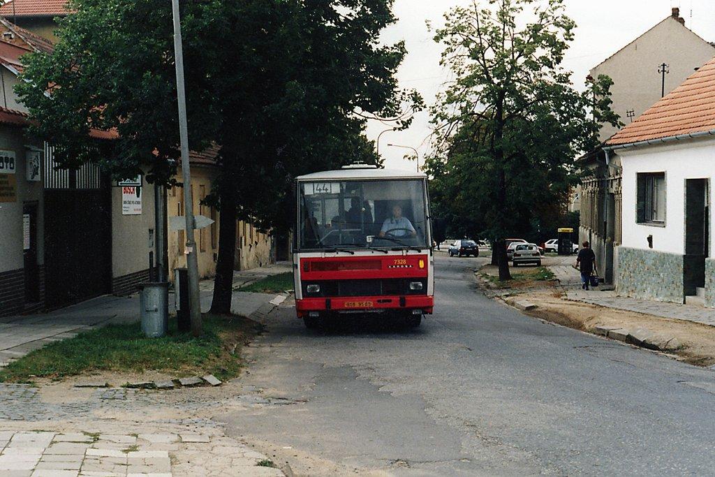 Fotogalerie » Karosa B732.1654 7328 | Brno | Husovice | Soběšická