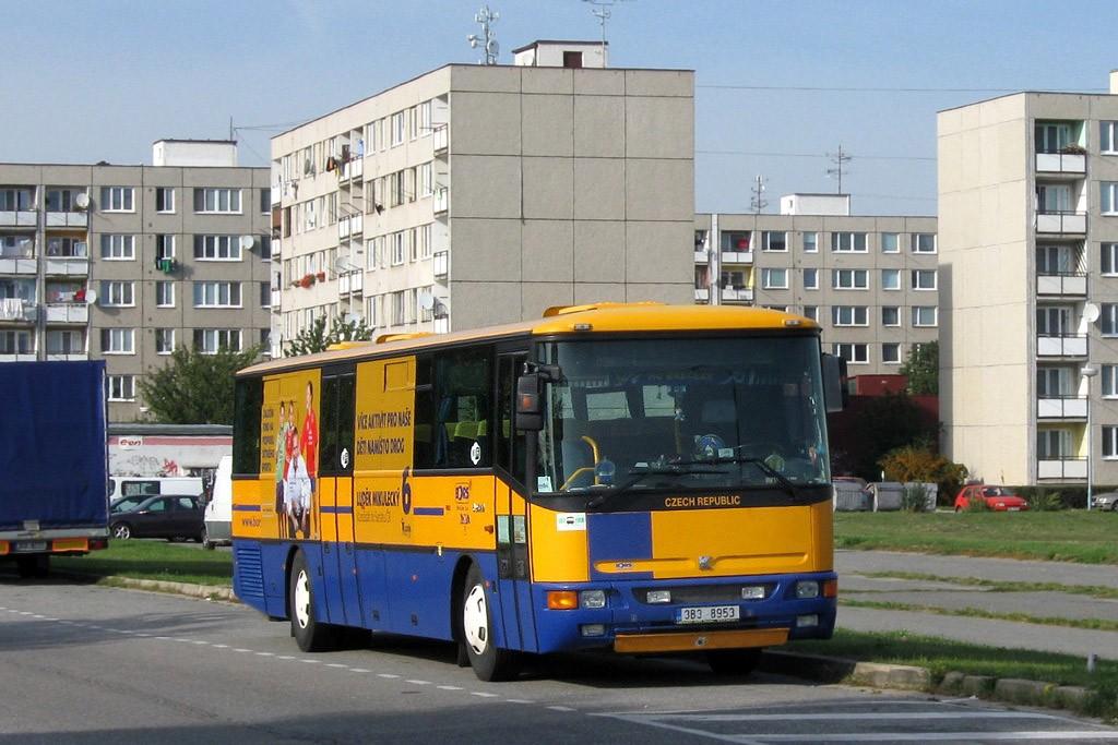 Fotogalerie » Karosa C954E.1360 3B3 8953 | Břeclav | Poštorná | Na Valtické | Poštorná, Valtická točna