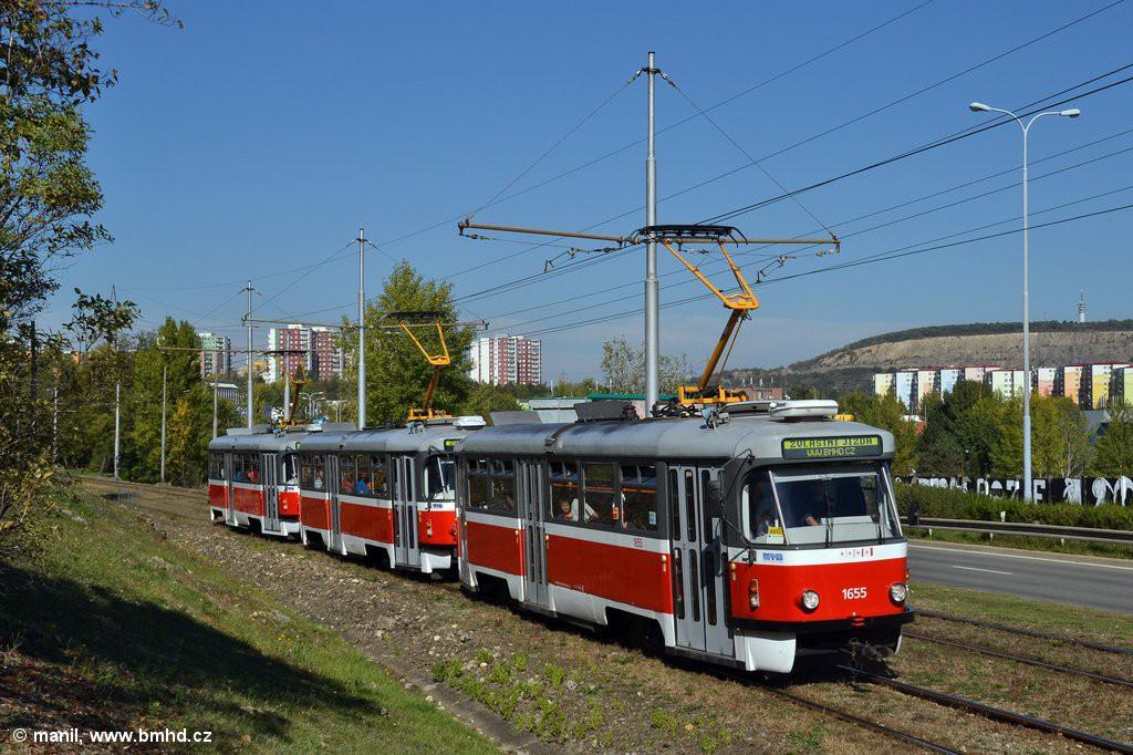 Fotogalerie » Pragoimex T3R.PV 1655 | Pragoimex T3R.PV 1657 | Pragoimex T3R.PV 1658 | Brno | Líšeň | Jedovnická