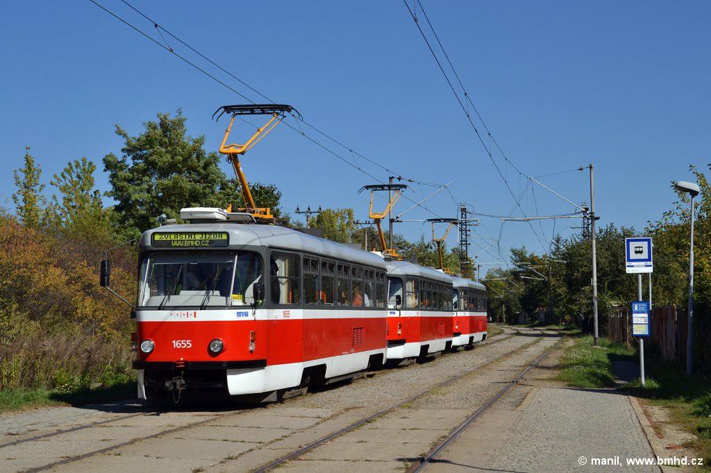 Fotogalerie » Pragoimex T3R.PV 1655   Pragoimex T3R.PV 1657   Pragoimex T3R.PV 1658   Brno   Slatina   Podstránská