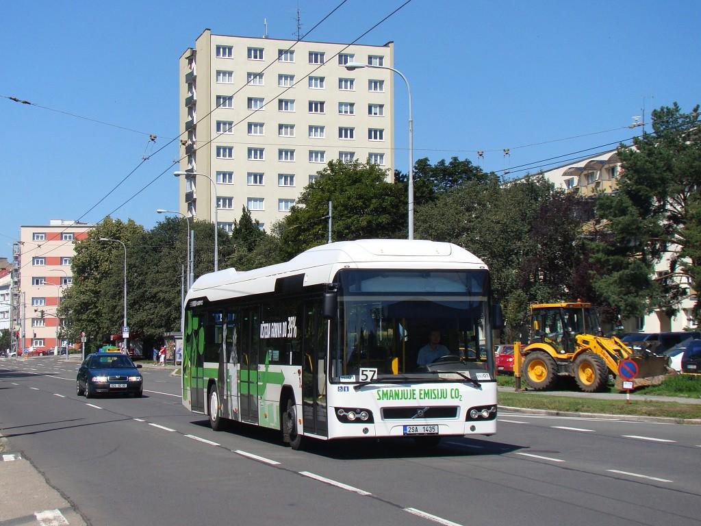 Fotogalerie » Volvo 7700LH 2SA 1435 2714 | Brno | Černá Pole | Provazníkova