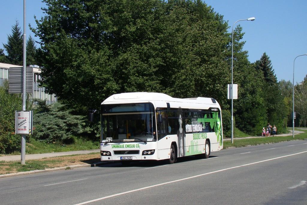 Fotogalerie » Volvo 7700LH 2SA 1435 2714 | Brno | Lesná | Okružní