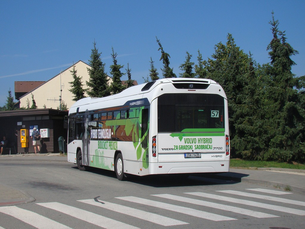 Fotogalerie » Volvo 7700LH 2SA 1435 2714 | Brno | Soběšice | Weissova | Soběšice, Klarisky