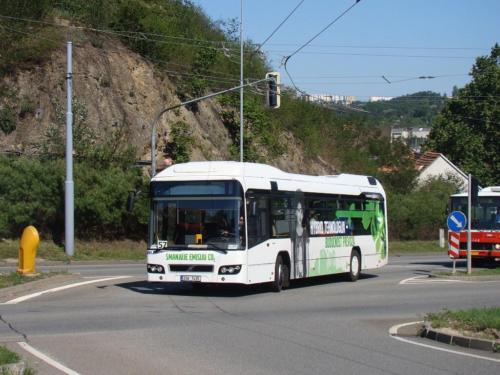 Fotogalerie » Volvo 7700LH 2SA 1435 2714 | Brno | Husovice | Provazníkova