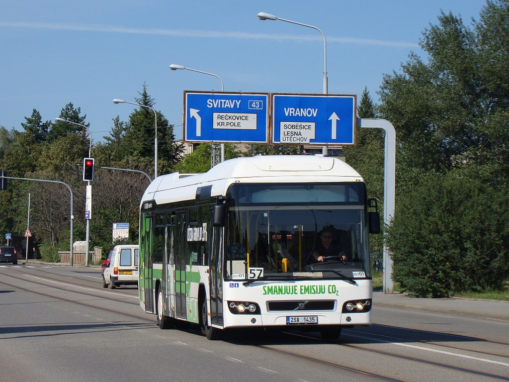 Fotogalerie » Volvo 7700LH 2SA 1435 2714 | Brno | Černá Pole | Merhautova