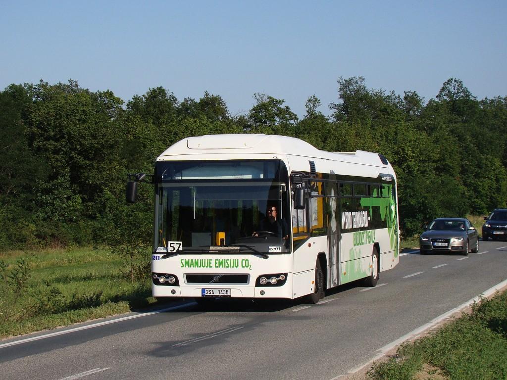 Fotogalerie » Volvo 7700LH 2SA 1435 2714 | Brno | Soběšice | Zeiberlichova