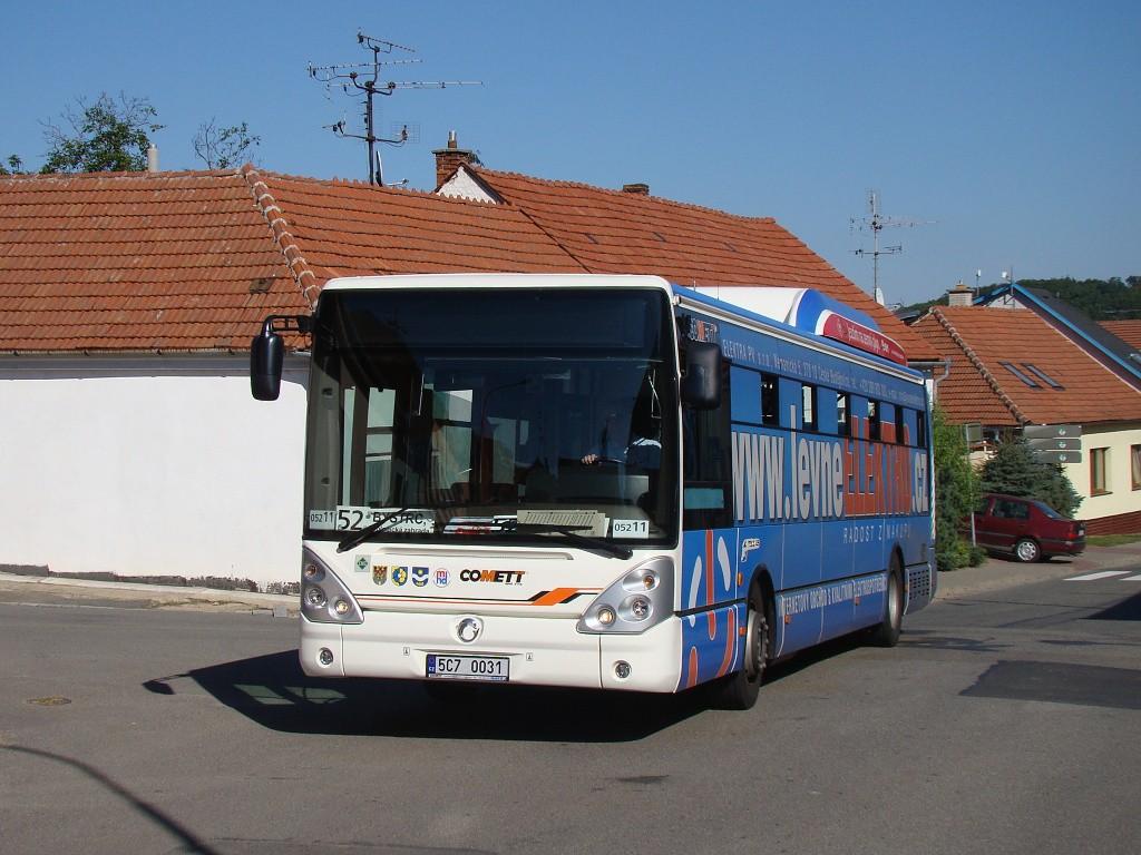 Fotogalerie » Irisbus Citelis 12M CNG 5C7 0031 2715 | Brno | Žebětín | Ríšova