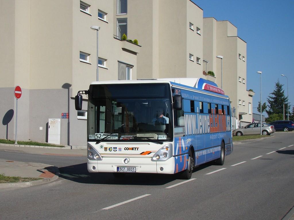 Fotogalerie » Irisbus Citelis 12M CNG 5C7 0031 2715   Brno   Bystrc   Kamechy