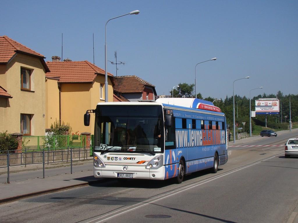 Fotogalerie » Irisbus Citelis 12M CNG 5C7 0031 2715   Brno   Černá Pole   Merhautova   Štefánikova čtvrť