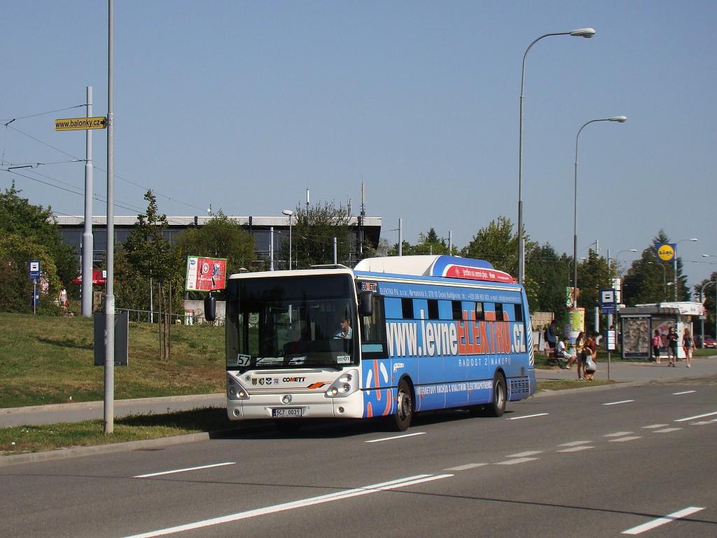 Fotogalerie » Irisbus Citelis 12M CNG 5C7 0031 2715 | Brno | Lesná | Okružní | Halasovo Náměstí