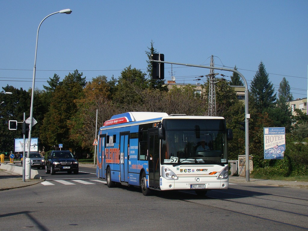 Fotogalerie » Irisbus Citelis 12M CNG 5C7 0031 2715 | Brno | Černá Pole | Merhautova