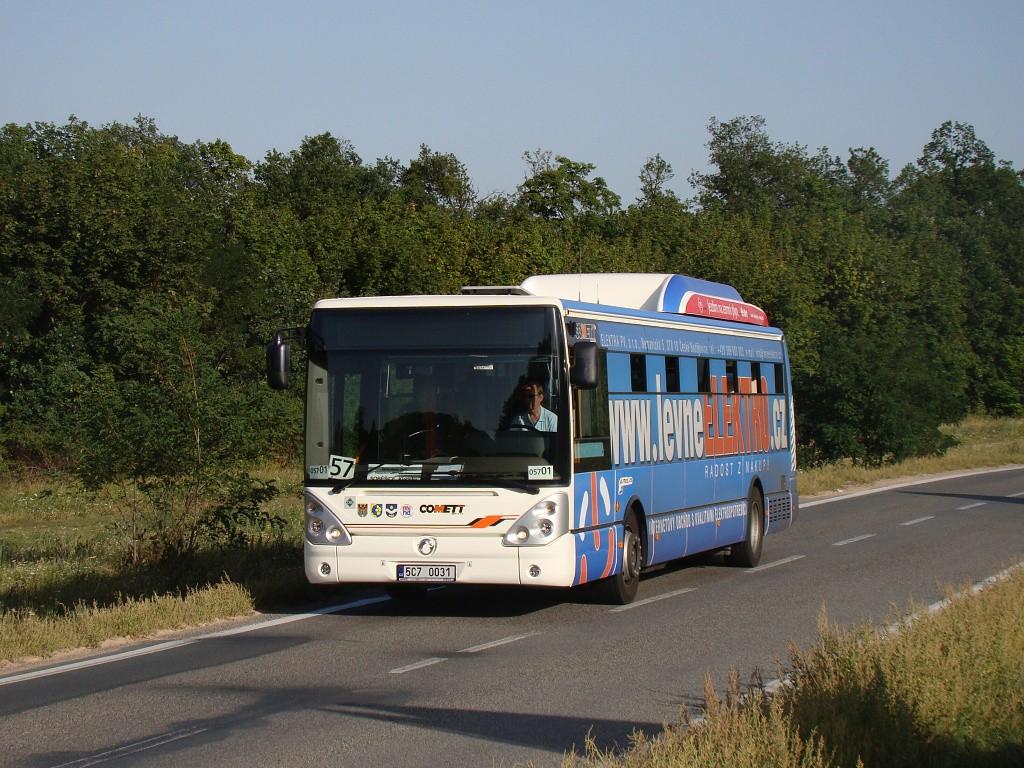 Fotogalerie » Irisbus Citelis 12M CNG 5C7 0031 2715   Brno   Soběšice   Zeiberlichova