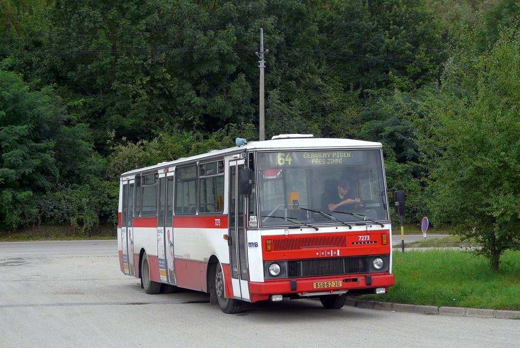 Fotogalerie » Karosa B732.40 BSB 62-30 7273 | Brno | Černovice | Vinohradská | Staré Černovice