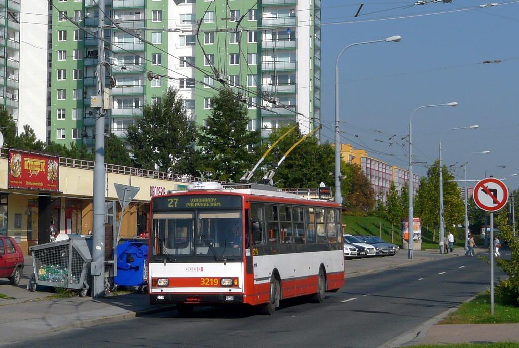 Fotogalerie » Škoda 14TrR 3219 | Brno | Vinohrady | Pálavské náměstí