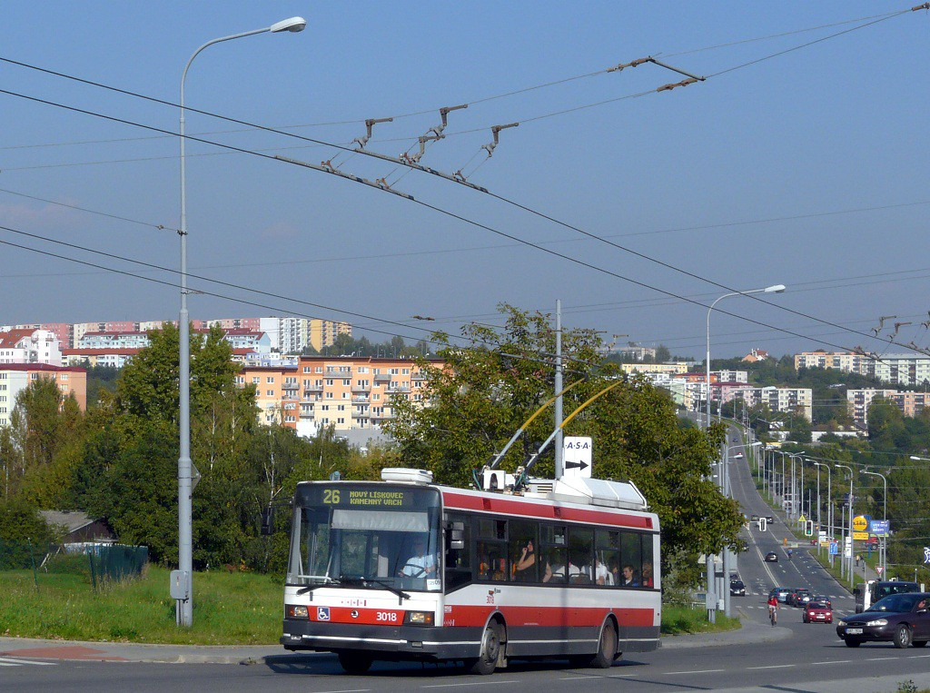 Fotogalerie » Škoda 21Tr 3018 | Brno | Vinohrady | Věstonická