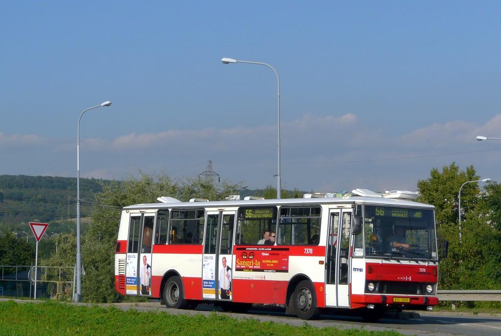 Fotogalerie » Karosa B732.1654.3 BSC 38-66 7378 | Brno | Líšeň | Křtinská