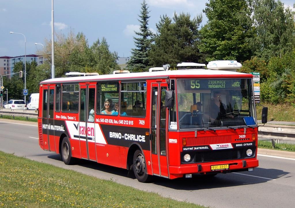Fotogalerie » Karosa B731.1669 BSC 69-07 7409 | Brno | Líšeň | Jedovnická