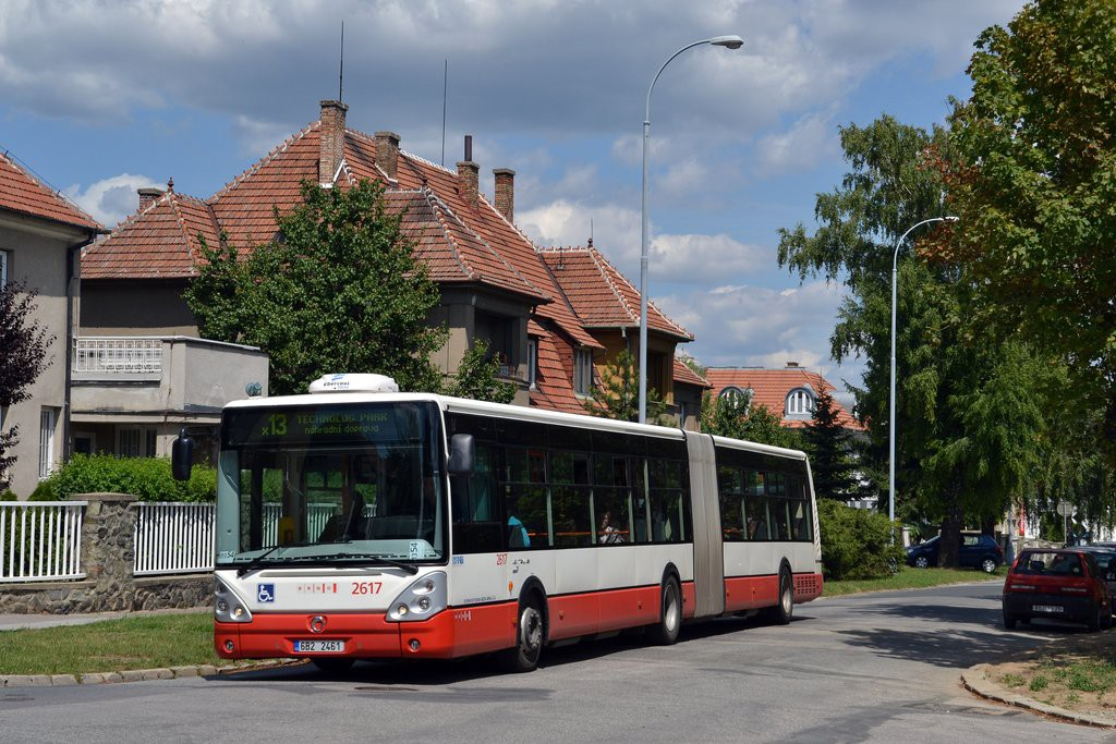 Fotogalerie » Irisbus Citelis 18M 6B2 2461 2617   Brno   Královo Pole   Dobrovského