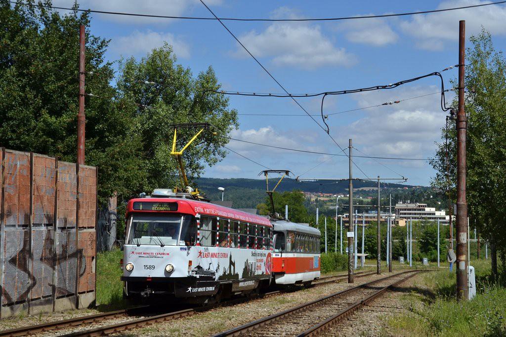 Fotogalerie » ČKD Tatra T3P 1589 | Pragoimex T3R.PV 1558 | Brno | Bystrc