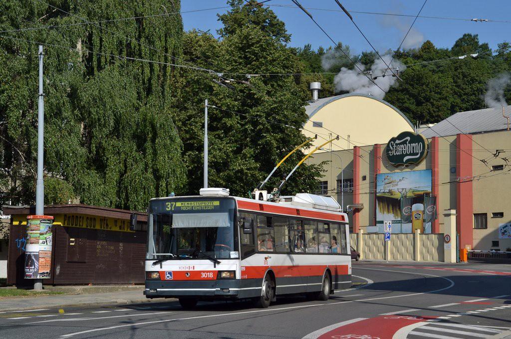 Fotogalerie » Škoda 21Tr 3018 | Brno | Staré Brno | Mendlovo náměstí