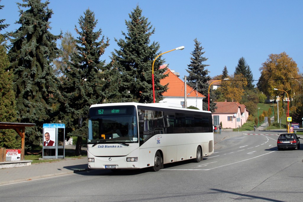 Fotogalerie » Irisbus Crossway 12M 7B9 9514 | Drnovice | Drnovice