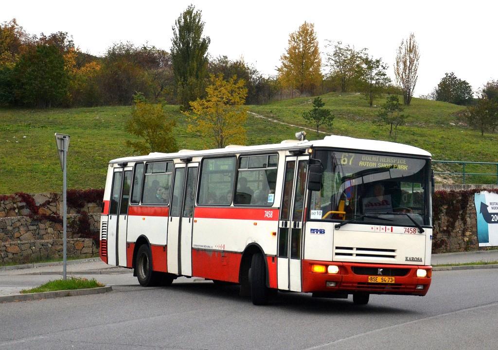 Fotogalerie » Karosa B931E.1707 BSE 94-73 7458 | Brno | Královo Pole | Cimburkova | NC Královo Pole