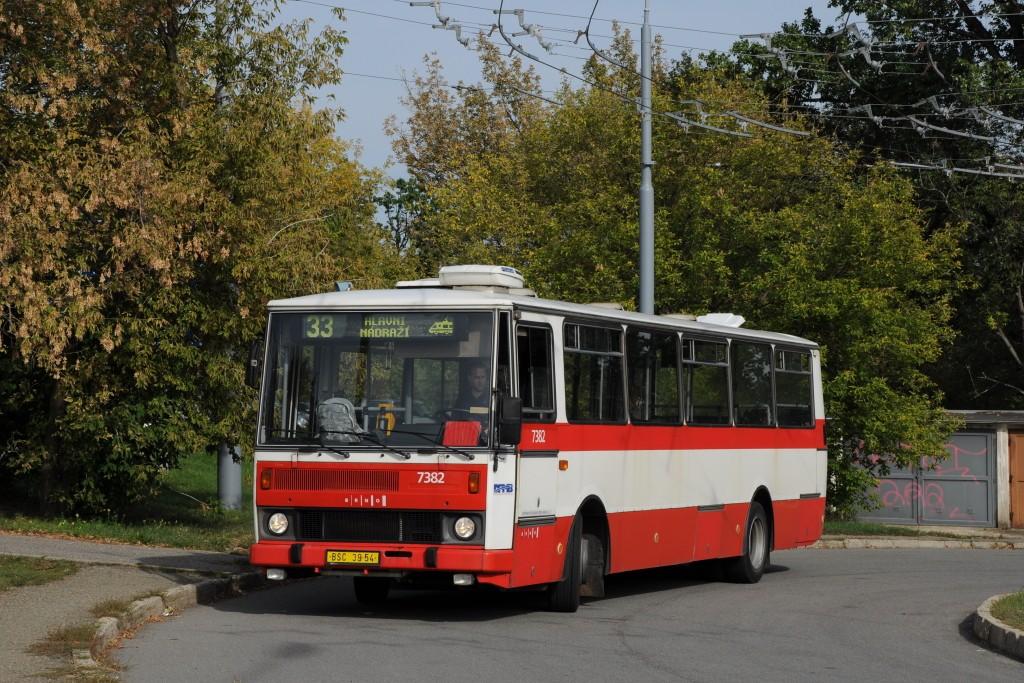 Fotogalerie » Karosa B732.1654.3 BSC 39-54 7382   Brno   Slatina   Mikulčická   Slatina, sídliště
