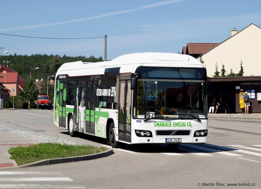 Fotogalerie » Volvo 7700LH 2SA 1435 2714   Brno   Soběšice   Weissova