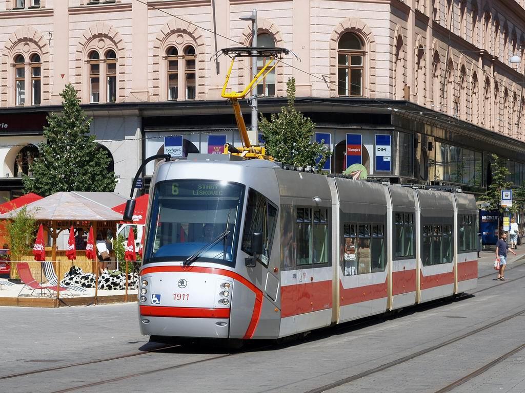 Fotogalerie » Škoda 13T3 1911 | Brno | střed | náměstí Svobody