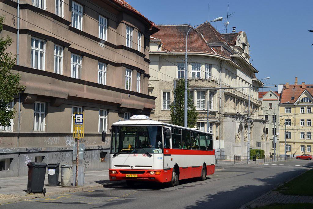 Fotogalerie » Karosa B931.1675 BSE 67-41 7424 | Brno | Královo Pole | Slovanské náměstí | Slovanské náměstí