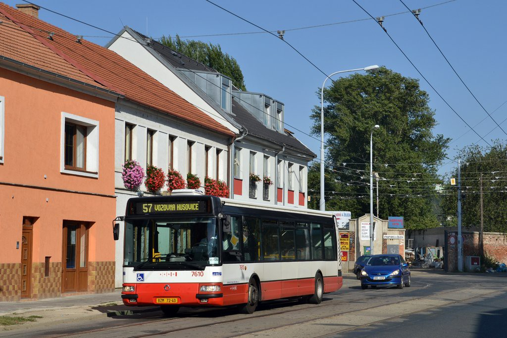 Fotogalerie » Irisbus Citybus 12M 2071.20 BZM 72-40 7610 | Brno | Husovice | Dačického
