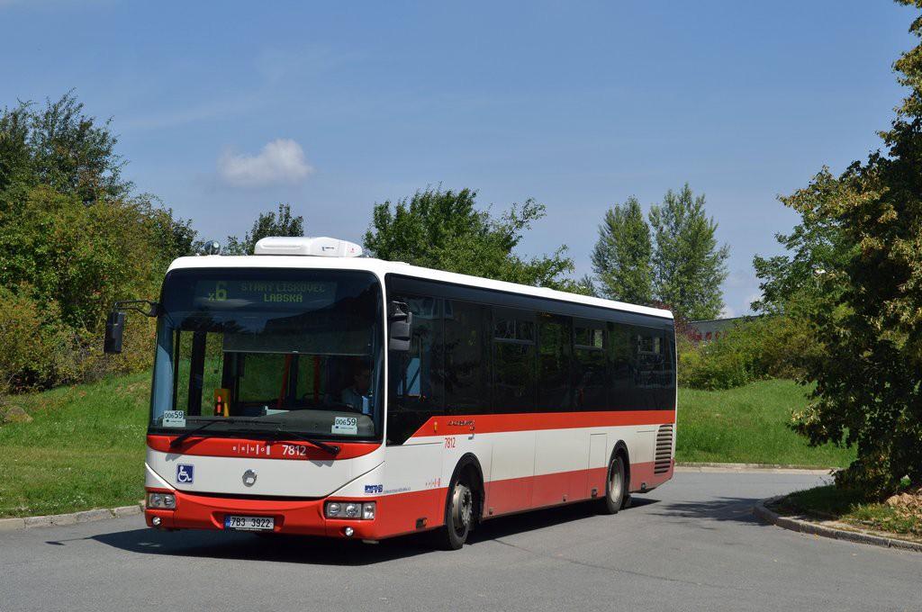 Fotogalerie » Irisbus Crossway LE 12M 7B3 3922 7812 | Brno | Bohunice | Ukrajinská | Ukrajinská