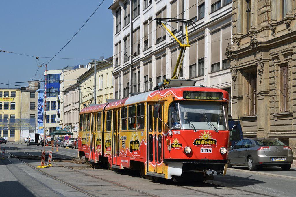 Fotogalerie » ČKD Tatra K2P 1116 | Brno | střed | Hybešova
