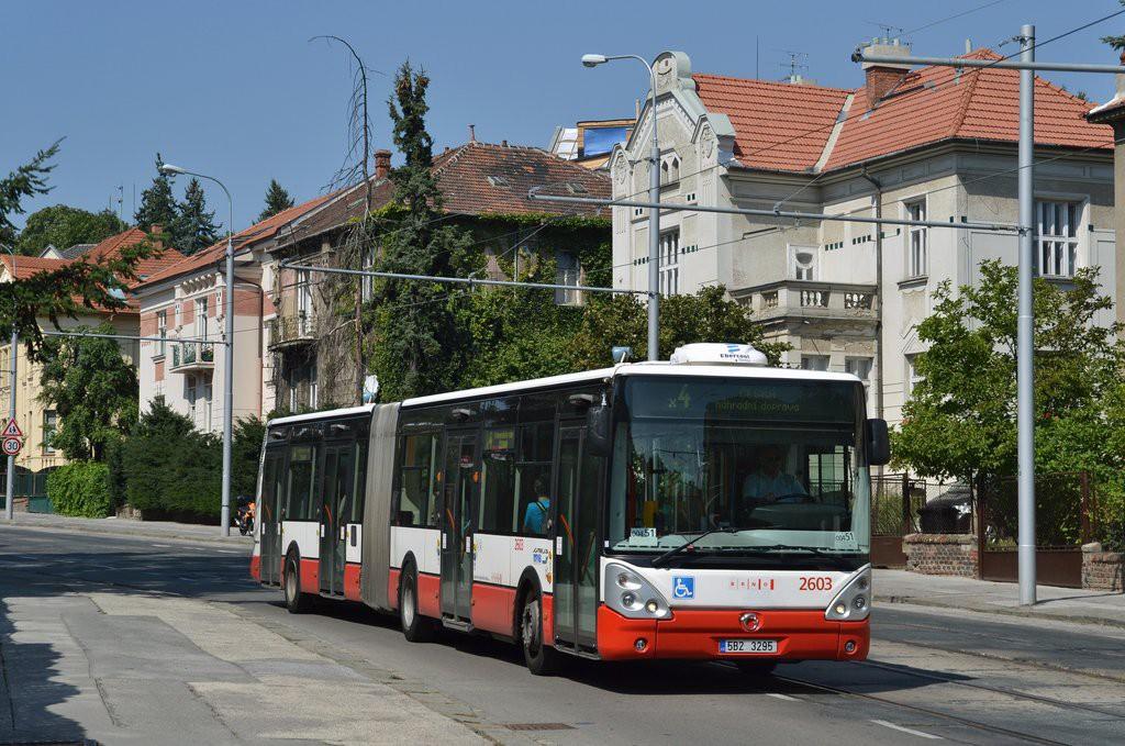 Fotogalerie » Irisbus Citelis 18M 5B2 3295 2603 | Brno | střed | Údolní