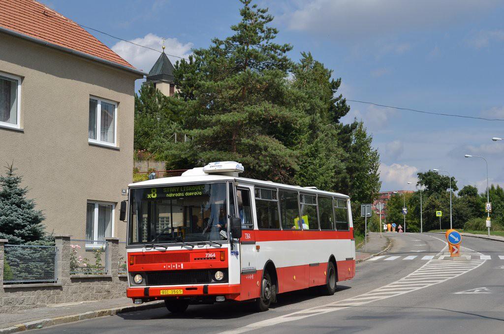Fotogalerie » Karosa B732.1654 BSC 35-01 7364 | Brno | Starý Lískovec | Elišky Přemyslovny
