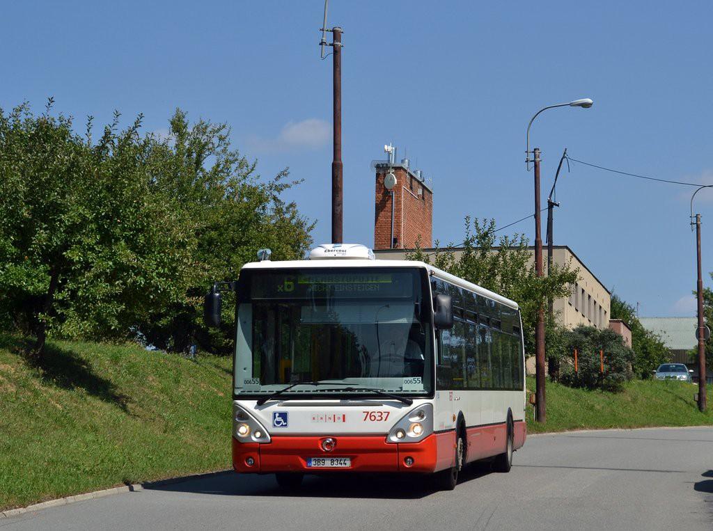 Fotogalerie » Irisbus Citelis 12M 3B9 8344 7637 | Brno | Starý Lískovec | Labská