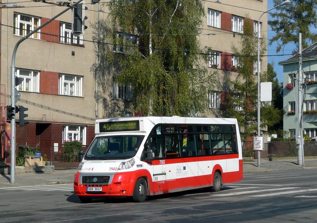 Fotogalerie » MAVE-Fiat CiBus ENA MAXI 6B8 8647 7502 | Brno | Černá Pole | Merhautova