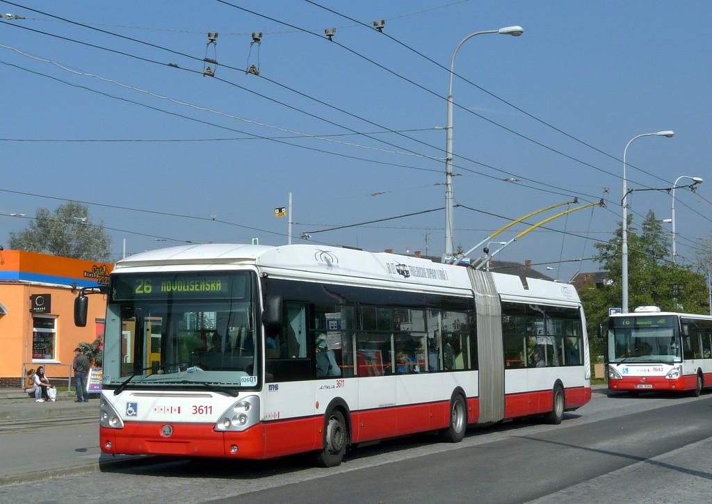 Fotogalerie » Škoda 25Tr Citelis 1B 3611 | Brno | Židenice | Stará Osada
